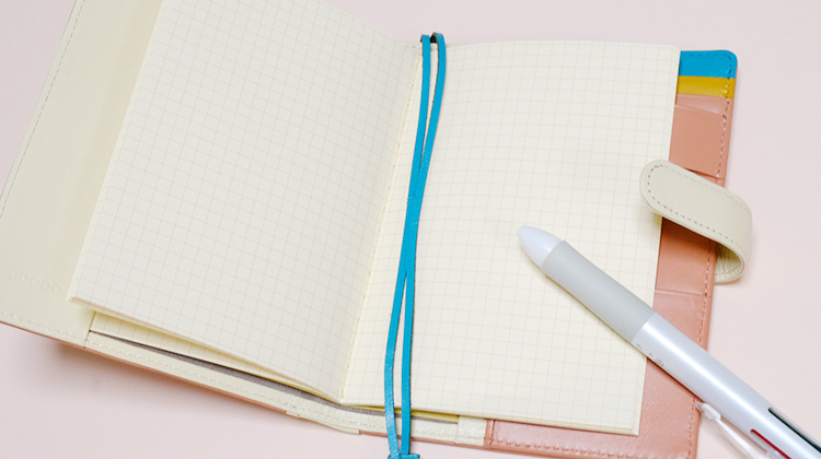 JOGGO(ジョッゴオリジナルオーダーメイド)本革A6手帳カバーメモ