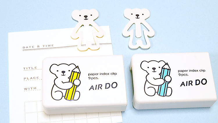 北海道の航空会社AIR DO(エア・ドゥ)のキャラクターくまの(ベアドゥ)グッズが超かわいい