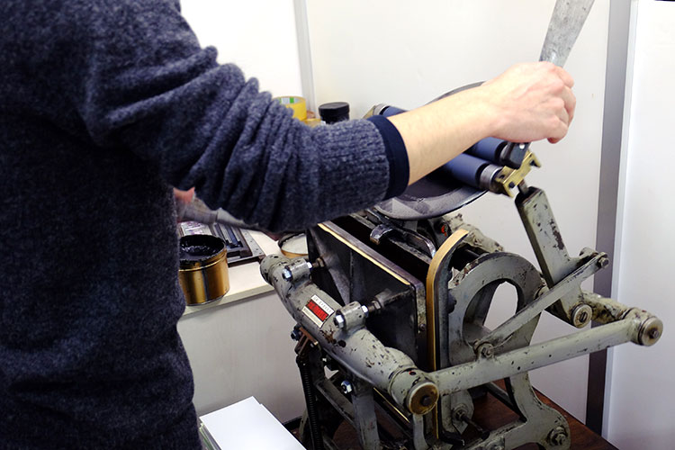 活版印刷ができる紙成屋さん&株式会社グッドクロスにお邪魔しました!