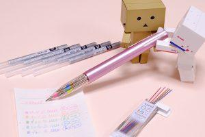 「ユニ ナノダイヤ カラー」を5色シャーペンにカスタマイズ!手帳やノートに便利です