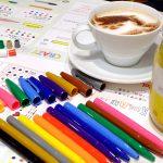 ぺんてるの落書きカフェ「GINZA RAKUGAKI Cafe」でワークショップ体験「CRAZY Sign Pen」