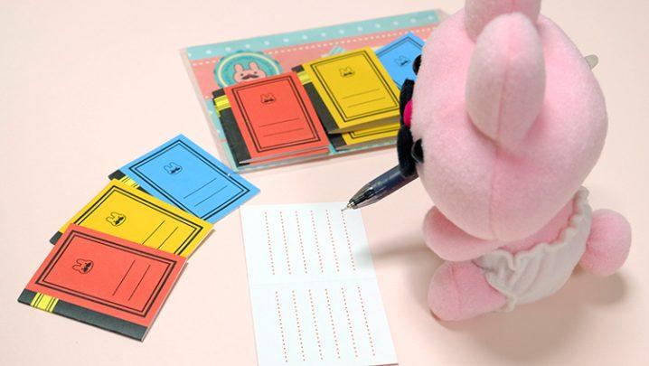 新アイテム【フムフムノートカード】minneで通販スタートします!