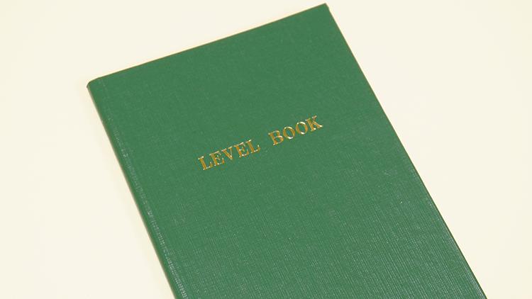 大人気のコクヨ測量野帳とは?「LEVEL BOOK」って何?