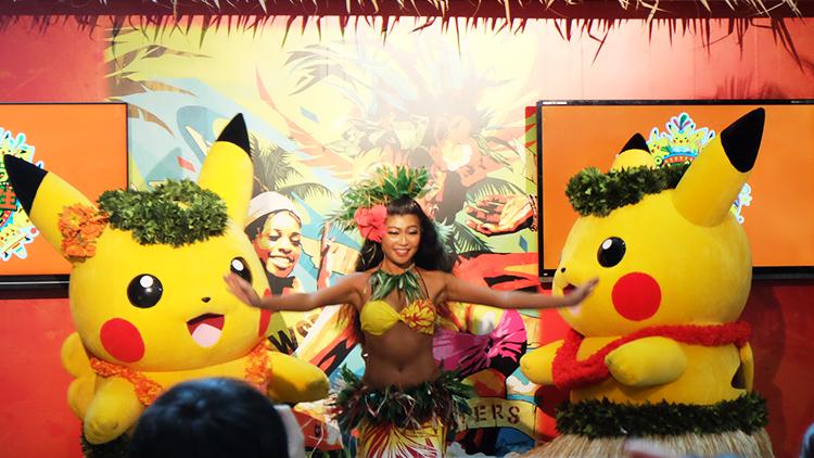 2017年ピカチュウだけじゃない ピカチュウ大量発生チュウ!横浜ワールドポーターズステージショー「島のカーニバル」