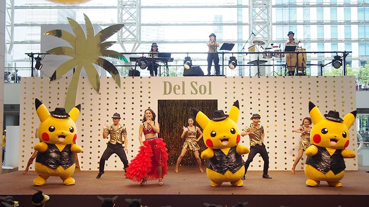 2017年ピカチュウだけじゃない ピカチュウ大量発生チュウ!クイーンズスクエア横浜「太陽のカーニバル」