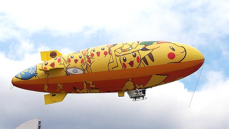 2017年ピカチュウだけじゃない ピカチュウ大量発生チュウ!「飛行船ピカチュウ」